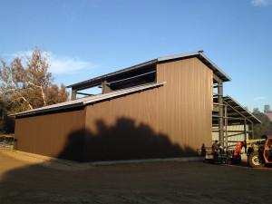 Gillian-Steel-Barn-Hollister-Partial-Construction