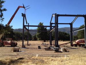 Gillian-Steel-Barn-Hollister-Under-Construction